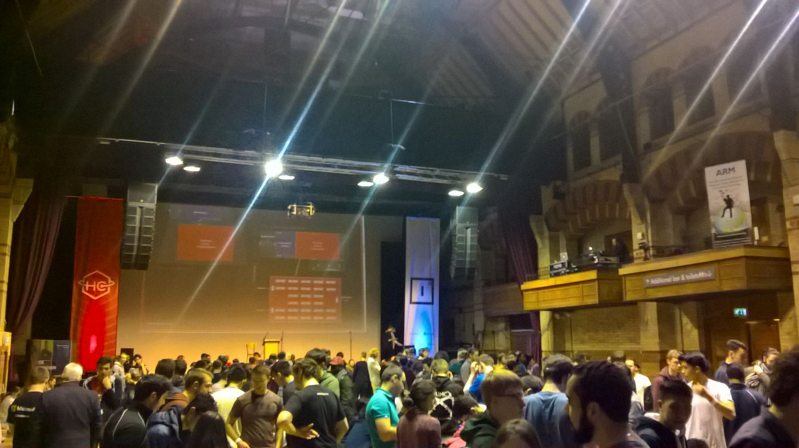 The attendees at HackCambridge (Courtesy: Major League Hacking)