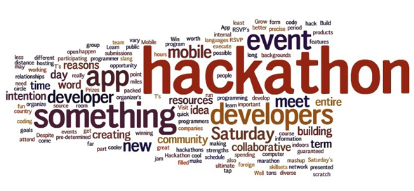 Some of the hackathon buzzwords