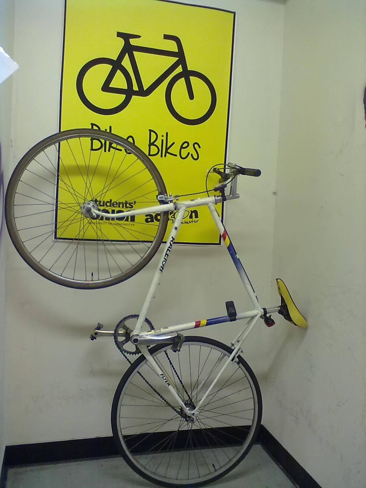 One of the bikes at Biko