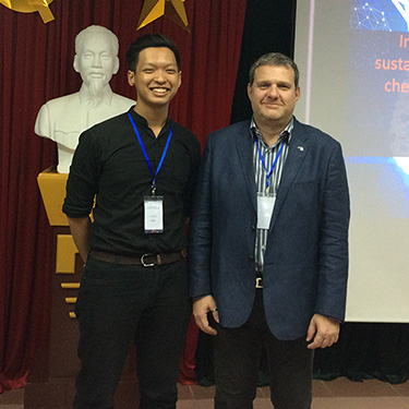 From a lecture tour in Vietnam