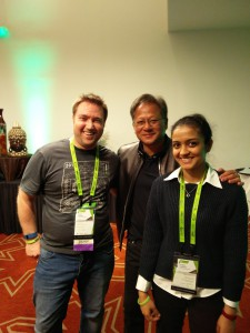 Meeting CEO of NVIDIA