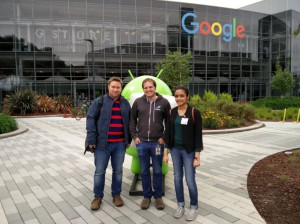 Meeting Pete Warden at Google