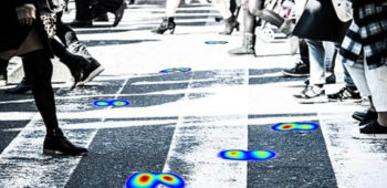 Analysis of Spatio-temporal Representations for Robust Footstep Recognition with Deep Residual Neural Networks