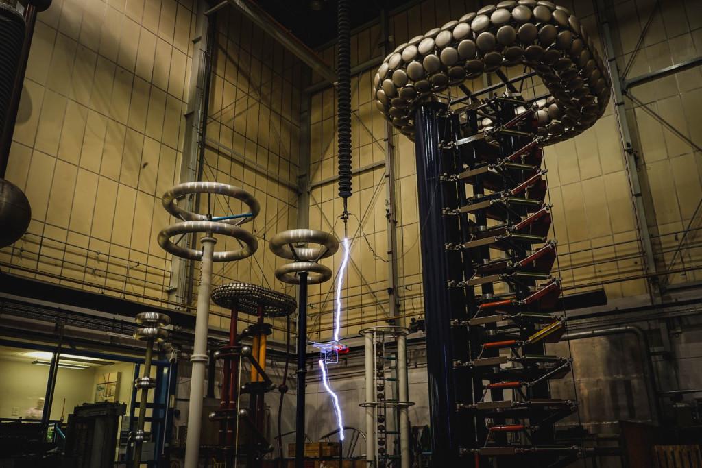 Testing a drone in lightning. Image © Enna Bartlett