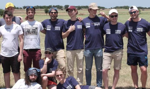 CanSat team in Texas