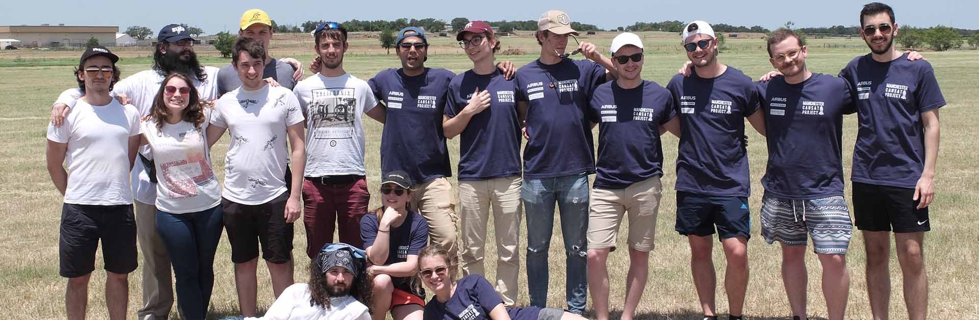 CanSat team in Texas