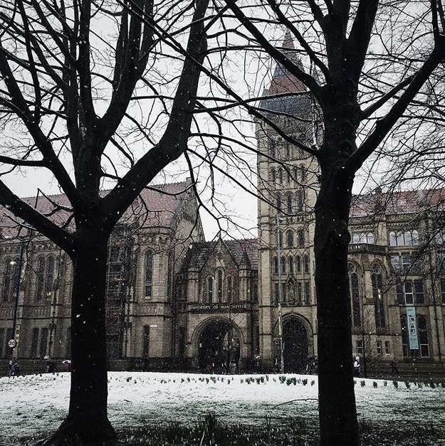 Credit goes to the @OfficialUOM twitter account for this picture!
