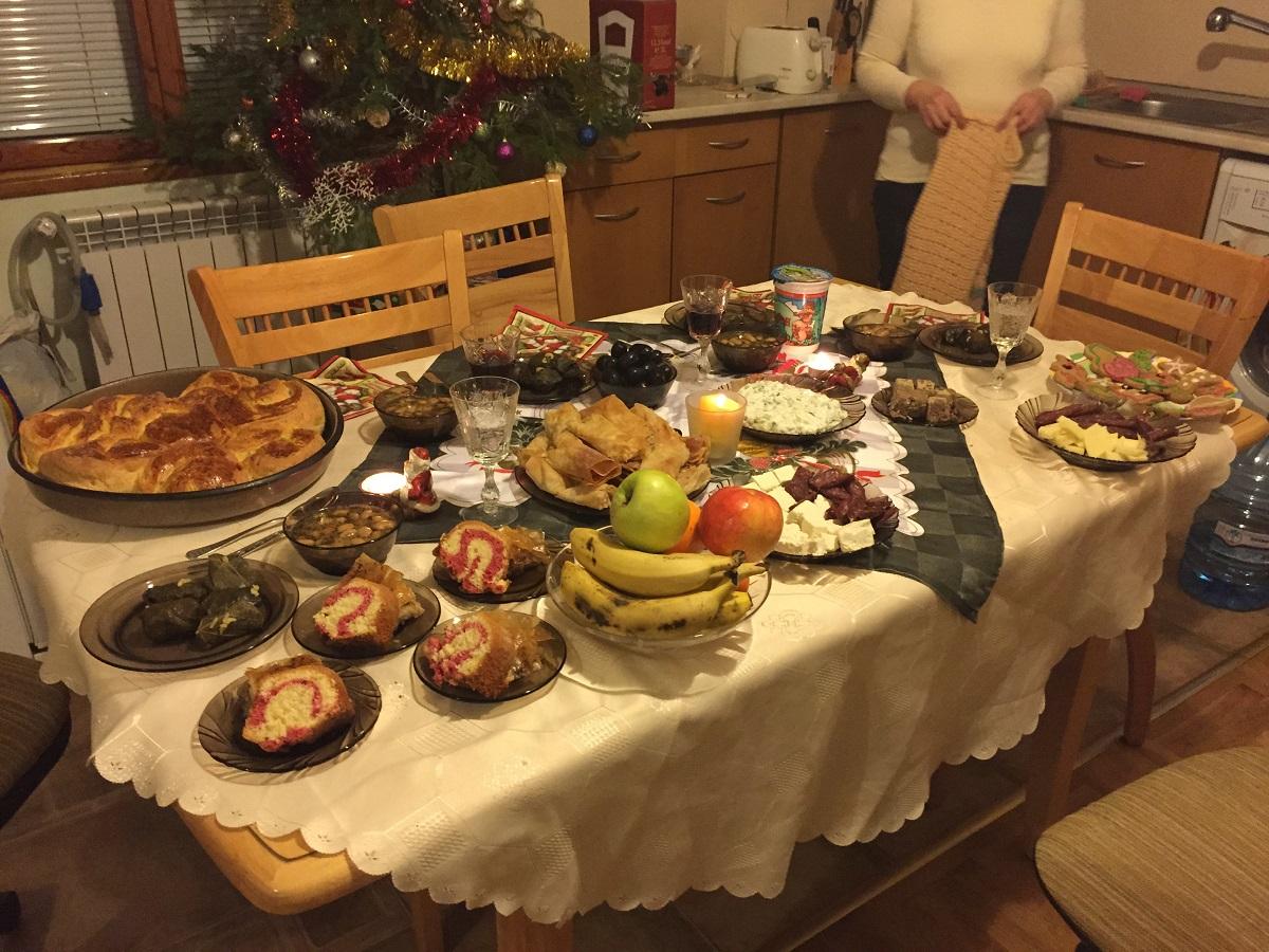 Veneta haralampieva hi i m veneta and come from for Christmas eve food ideas uk