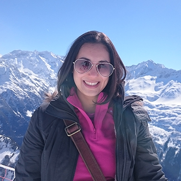 Rosa in the alps