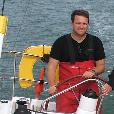 A shot from a sailing trip