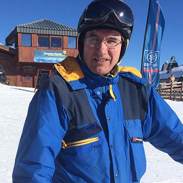 Philip on a recent ski trip