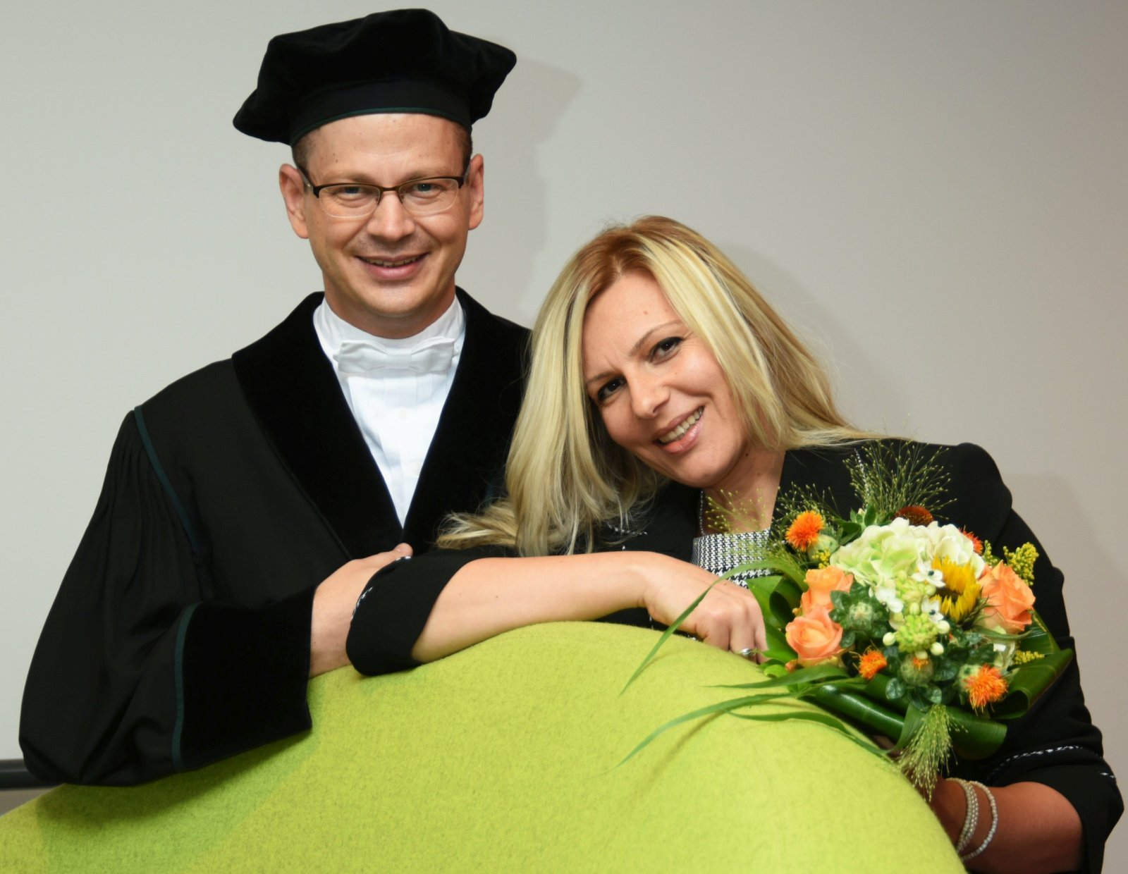 Photo X - At the inaugural lecture as (industrial) full professor at Unversity of Twente (NL)