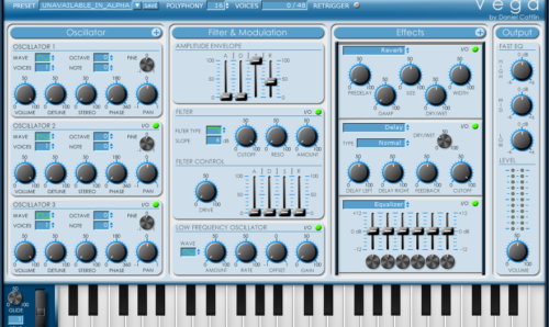 music synthesizer
