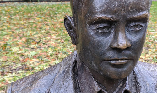 Alan Turing statue in Manchester