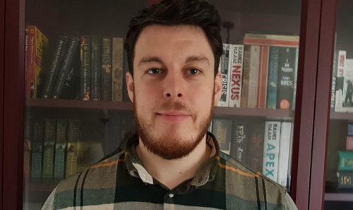 Matthew Hamer, Scopus award-winning post-doc at the National Graphene Institute