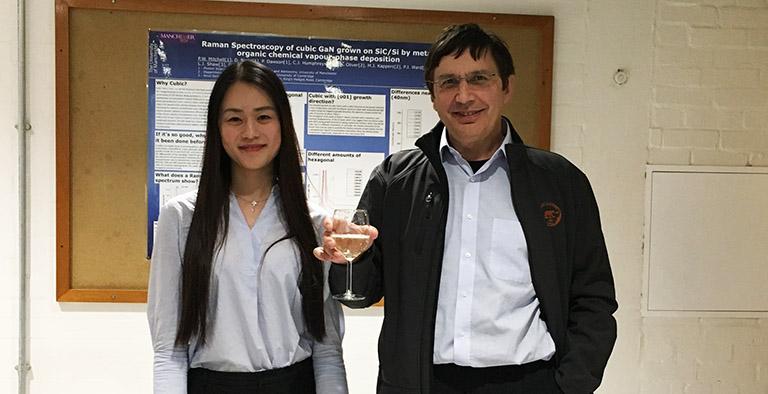 Qian Yang and Professor Sir Andre Geim