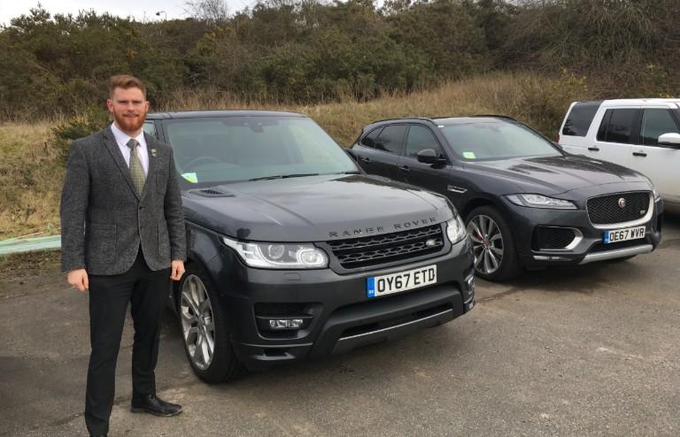 Chris at Jaguar Land Rover
