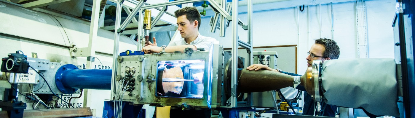 Life as a PhD student: Tom Fisher working with Mark Quinn on MACE's hypersonic wind tunnel