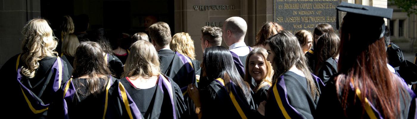 Manchester graduation