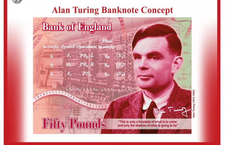 Turing £50 banknote