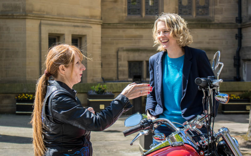 Dr Christine Twigg and Professor Danielle George investigate Beatrice Shilling's time at The University of Manchester in a BBC documentary.