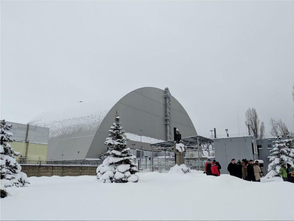 Chernobyl confinement arch, dalton