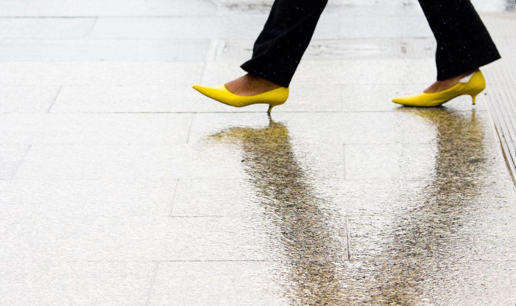 footsteps, biometrics, university of manchester