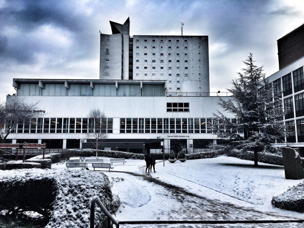 university of manchester snow