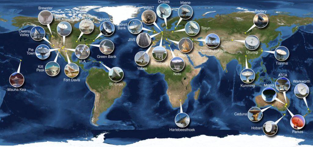 Telescopes around the world