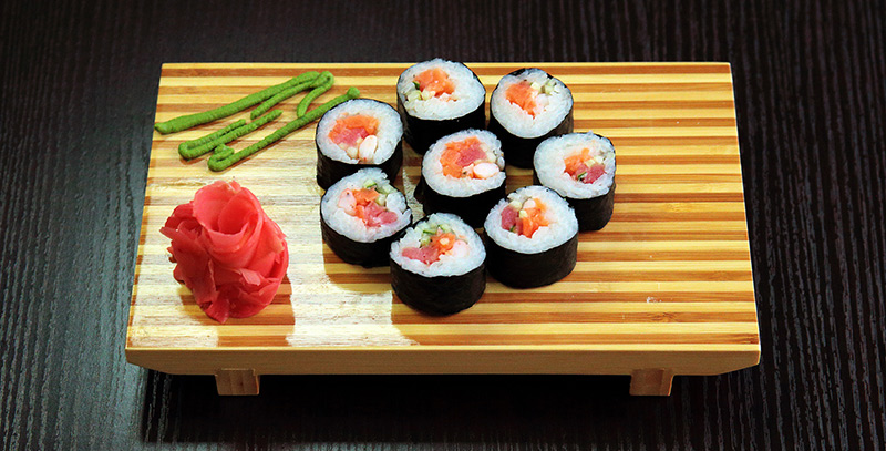 Prepared sushi