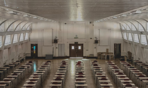 Exam hall at Sackville Street Building