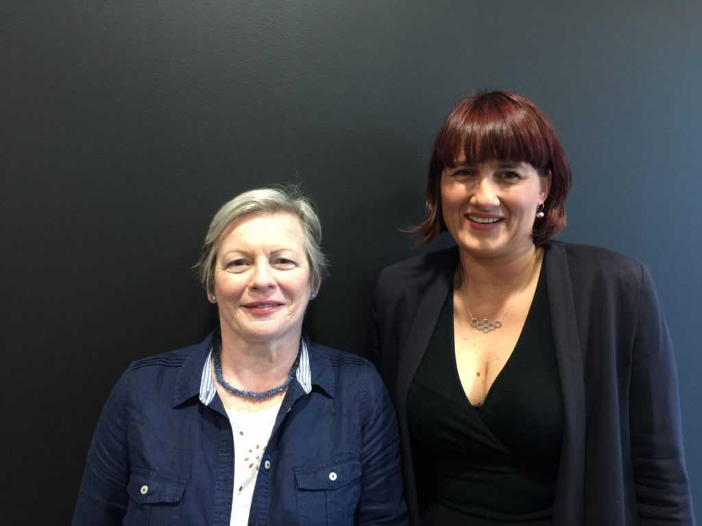 Joy Milne and Prof Perdita Barran