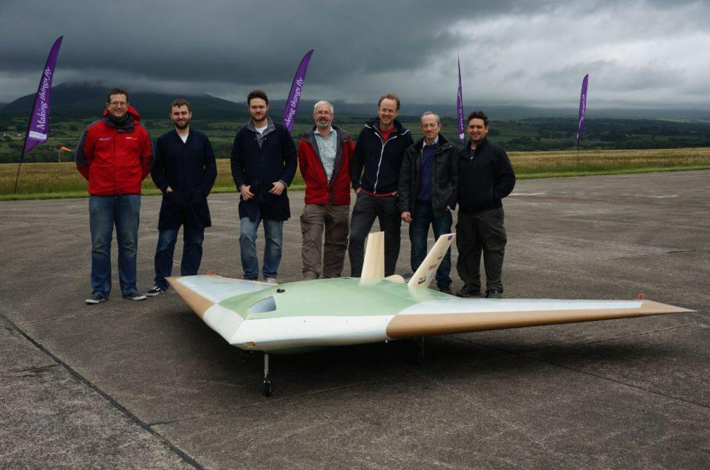 MAGMA aircraft and team