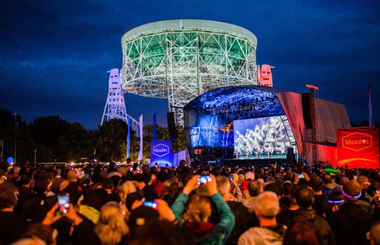 Bluedot stage Lovell telescope