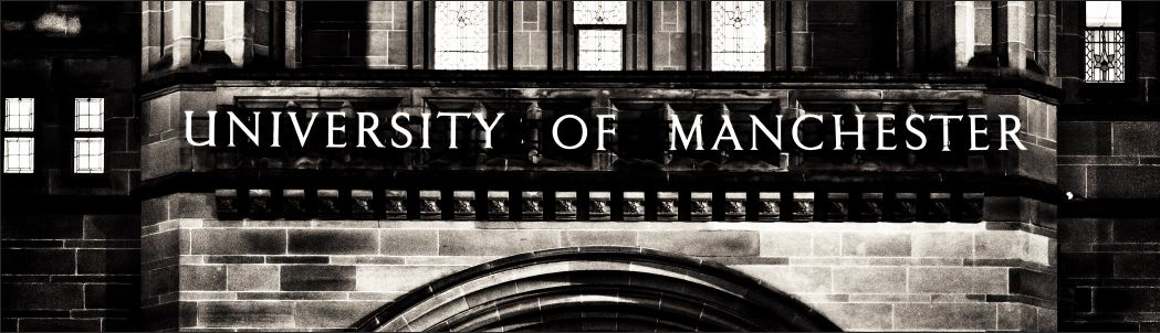 University of Manchester sign