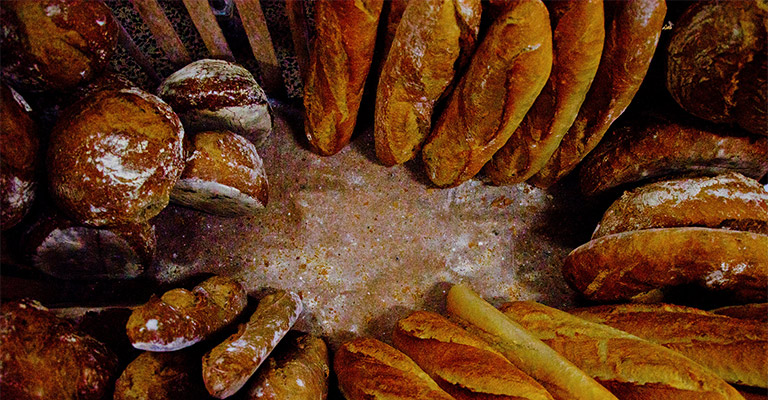 Collection of bread