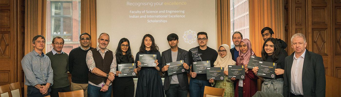 International and Indian scholarship award winners