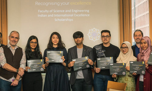 International and Indian scholarship award winners