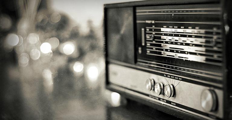 A retro radio