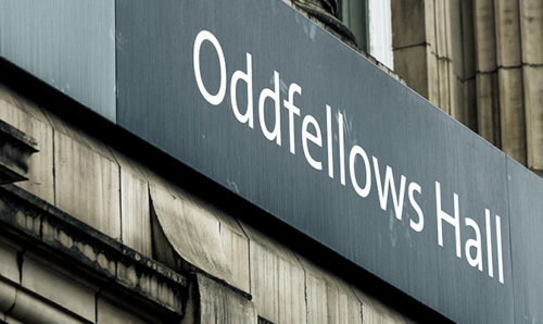 Oddfellows Hall exterior