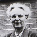 Black and white photo of Kathleen Drew Baker