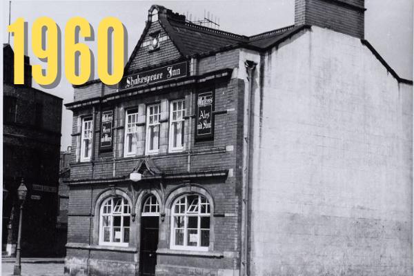 Shakespeare Inn, 1960