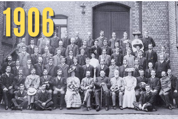 Department of Physics in 1906