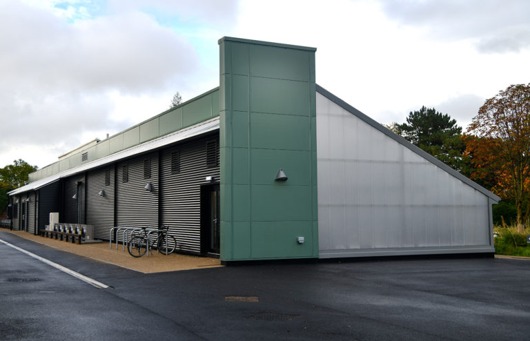 Picture of the new greenhouse