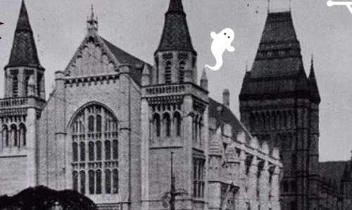 A spooky Whitworth Hall