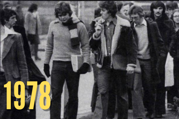 Students in 1978