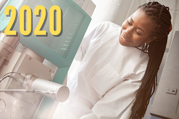 Scientist at work 2020