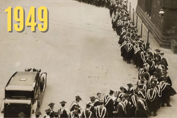 Degree day in 1949