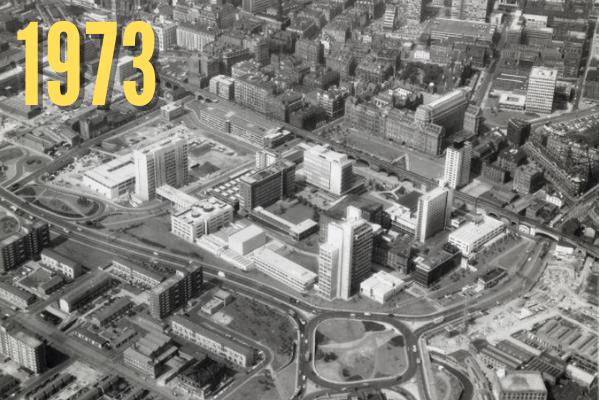 North Campus in 1973