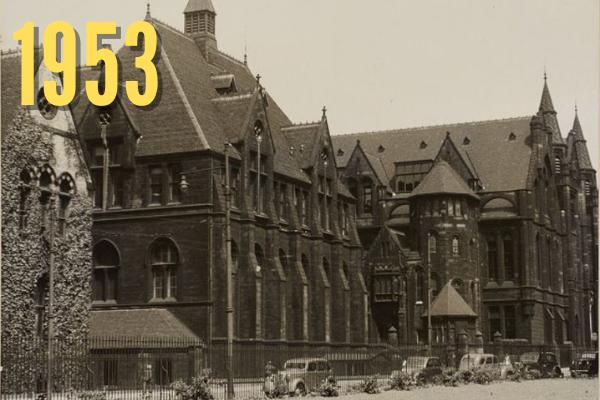 Old Chemistry Building in 1953